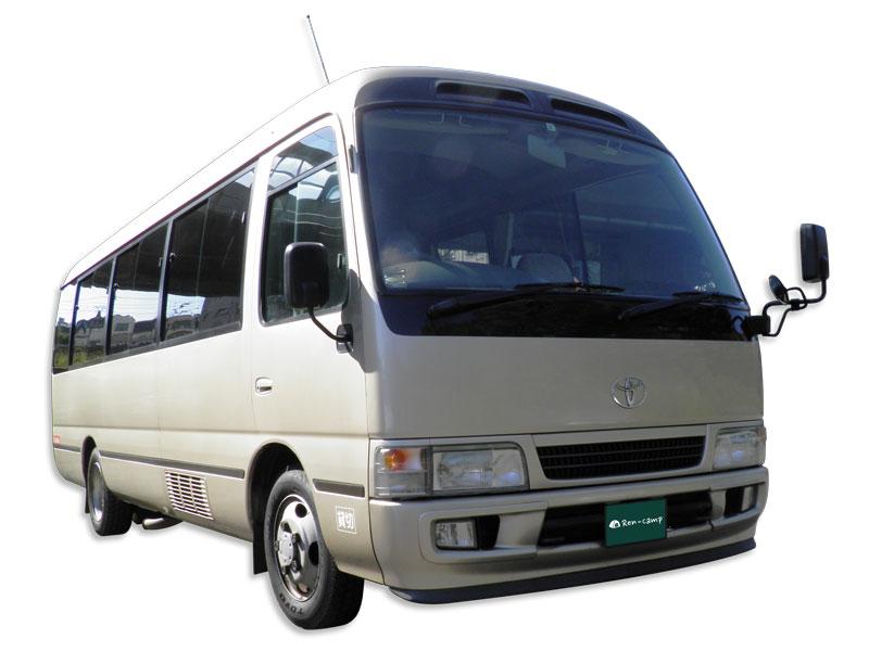 キャンプ送迎バス(マイクロバス)